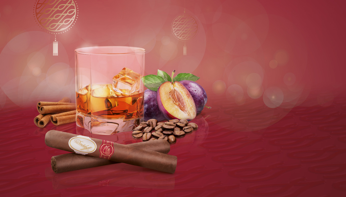 Year of the Rat 2020 Davidoff Pairing with aged Whisky